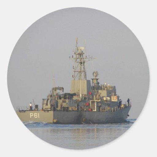 Offshore Patrol Boat Round Sticker