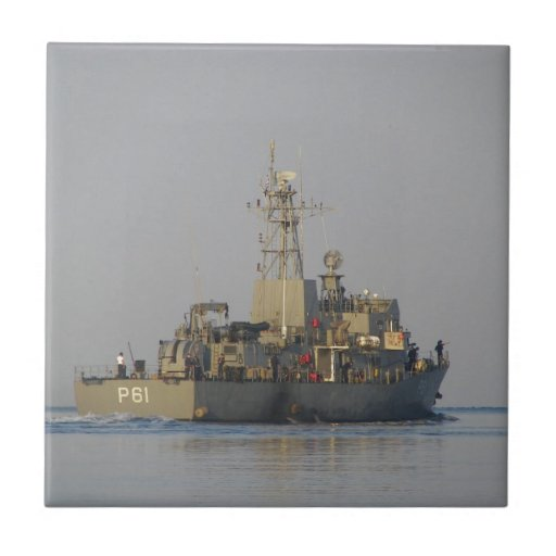 Offshore Patrol Boat Ceramic Tile