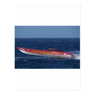 Offshore Powerboat Postcard