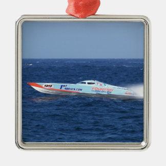 Offshore Powerboat Racer Metal Ornament