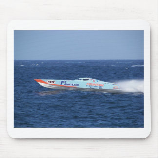 Offshore Powerboat Racer Mouse Pad