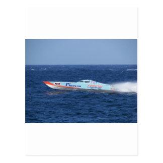 Offshore Powerboat Racer Postcard