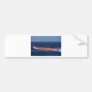 Offshore Powerboat Racing Bumper Sticker