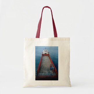 "Offshore supply ship ""Skanki Hav"", Norwegian secto Budget Tote Bag"