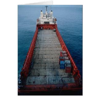 "Offshore supply ship ""Skanki Hav"", Norwegian secto Greeting Card"