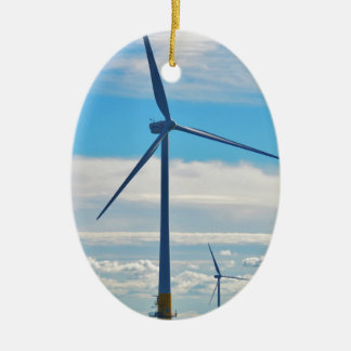 Offshore Wind Farm Ceramic Ornament