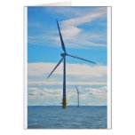 Offshore Wind Farm Greeting Cards