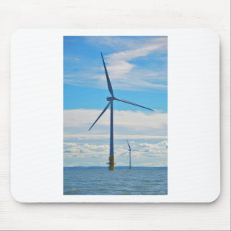 Offshore Wind Farm Mouse Pad