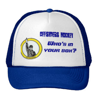 Offsiders Crest, Offsiders Hockey, Who's in you... Trucker Hat