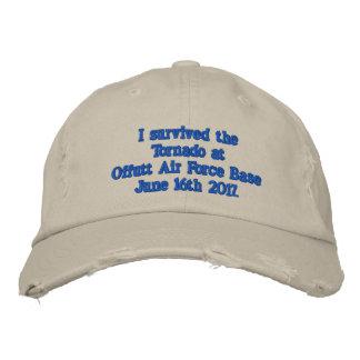 Offutt Air Force Base Embroidered Baseball Cap