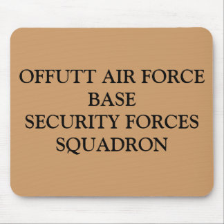 OFFUTT AIR FORCE BASESECURITY FORCES SQUADRON MOUSE PAD