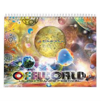 OFFWORLD 2009 Calendar