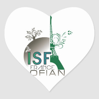 OFIAN / ISF France Goodies Heart Sticker