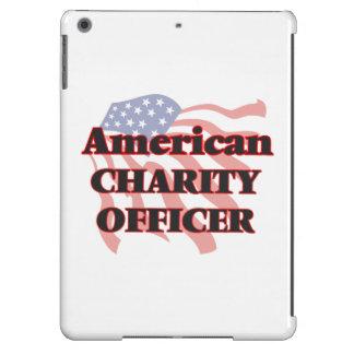 Oficial americano de la caridad funda para iPad air