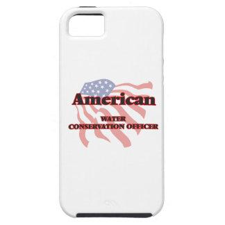 Oficial americano de la protección de agua iPhone 5 carcasa