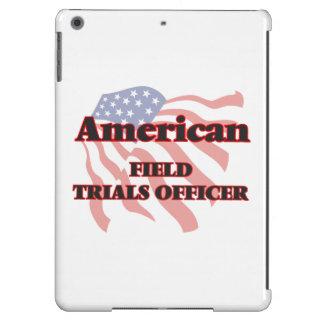 Oficial americano de los ensayos prácticos funda para iPad air