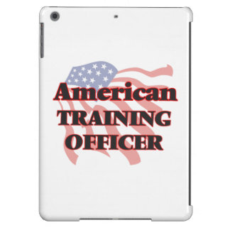 Oficial americano del entrenamiento funda para iPad air