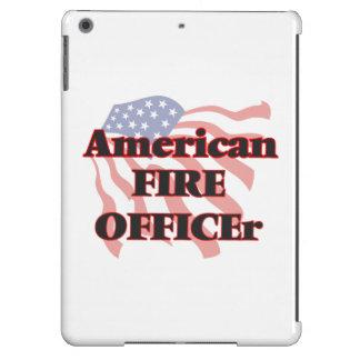Oficial americano del fuego funda para iPad air