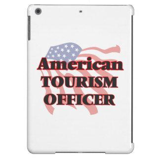 Oficial americano del turismo funda para iPad air