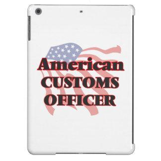 Oficial de aduanas americano funda para iPad air