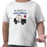 Oficial de policía A de tío Camiseta
