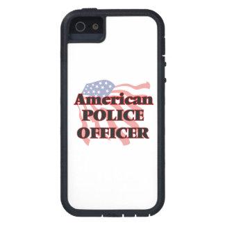 Oficial de policía americano iPhone 5 carcasas