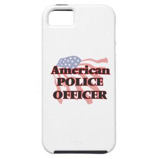 Oficial de policía americano iPhone 5 fundas