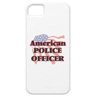 Oficial de policía americano iPhone 5 carcasa
