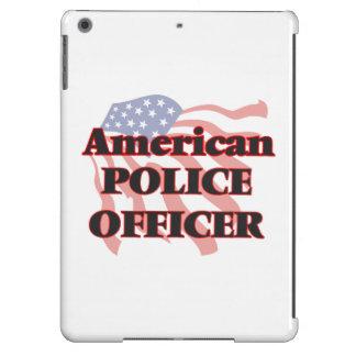 Oficial de policía americano funda para iPad air
