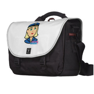 Oficial de policía bolsas de ordenador
