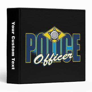 """Oficial de policía carpeta 1 1/2"""""""