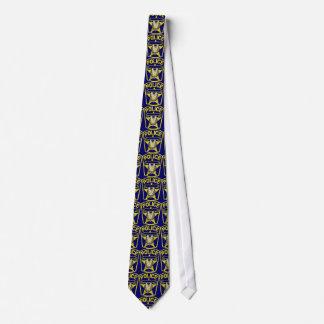 Oficial de policía corbata personalizada