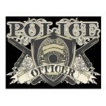 Oficial de policía del vintage postales