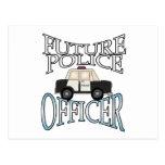 Oficial de policía futuro del crucero de la policí postales