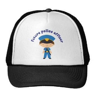 Oficial de policía futuro gorro