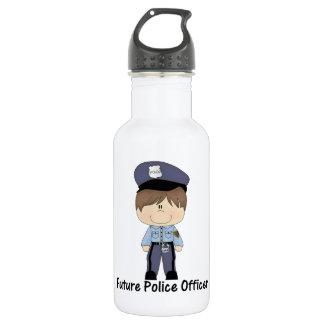 oficial de policía futuro (muchacho)