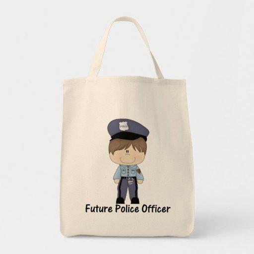 oficial de policía futuro (muchacho) bolsas