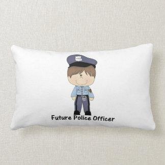 oficial de policía futuro (muchacho) cojín