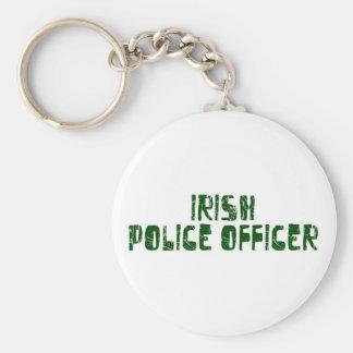 Oficial de policía irlandés llavero personalizado