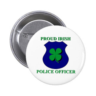 Oficial de policía irlandés orgulloso pins