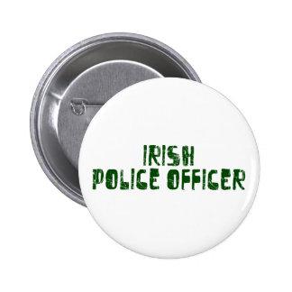 Oficial de policía irlandés pin