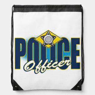 Oficial de policía mochilas