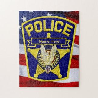 Oficial de policía puzzles con fotos