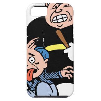 Oficial de policía y sospechoso iPhone 5 fundas