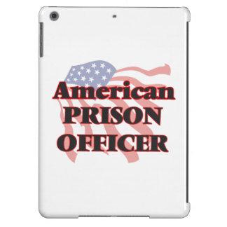 Oficial de prisión americano funda para iPad air