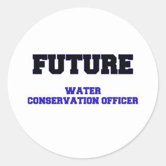 Oficial futuro de la protección de agua etiquetas