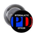 Oficial intergaláctico del Departamento de Policía Pins