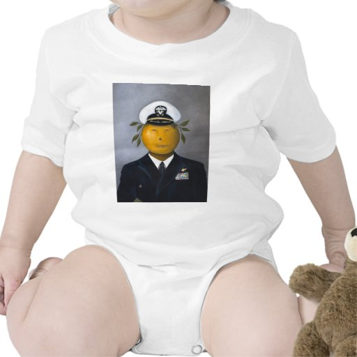 Oficial naval trajes de bebé