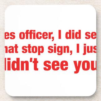 Oficial vi sí que la muestra de la parada, I Posavaso