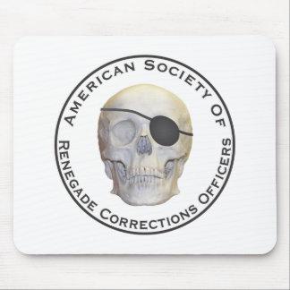 Oficiales de correcciones renegados alfombrilla de ratón